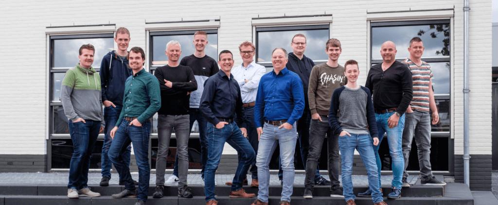Het ICT Team van Vrieling